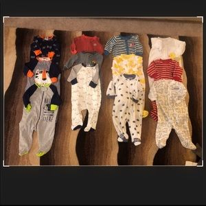 12 piece Boys Bundle 3 month one piece